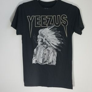 SOLD -Yeezy Tour Smoking Indian Wes Lang Tee Shirt